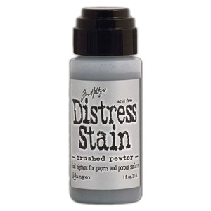 Disress Stain Brushed Pewter