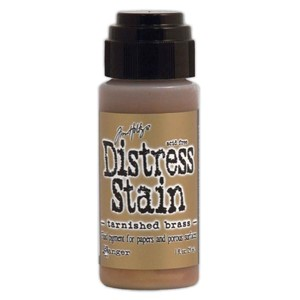 Disress Stain Tarnished Brass