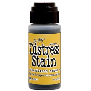 Distress Stain - April - Fossilized Amber