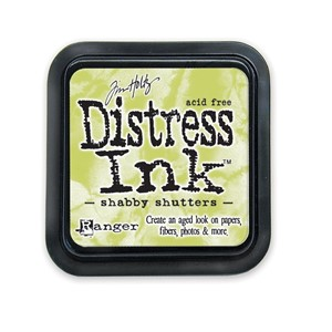 Distress ink Shabby shutters
