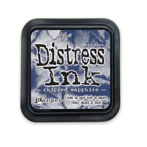 Chipped Sapphire Stamp Pad, Distress ink