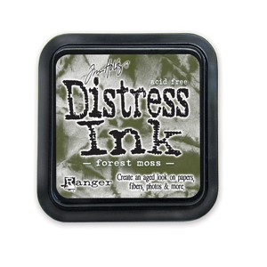 Forest Moss Stamp Pad, Distress ink
