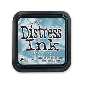 Stormy Sky Stamp Pad, Distress ink