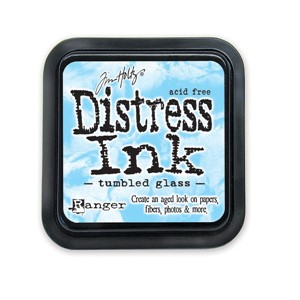 Tumbled Glass Stamp Pad, Distress ink