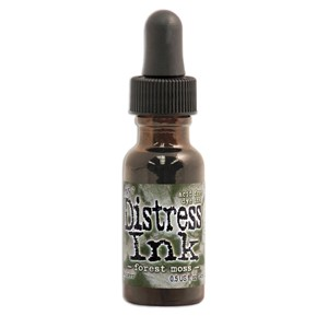 Forest Moss 1/2 oz. Reinker, Distress ink