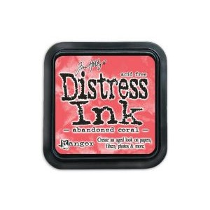Distress Ink Pad - February -Abandoned coral