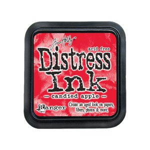 Distress Ink Pad - December - Candied Apple