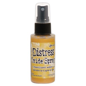 Tim Holtz Distress Oxide Sprays - Fossilized Amber