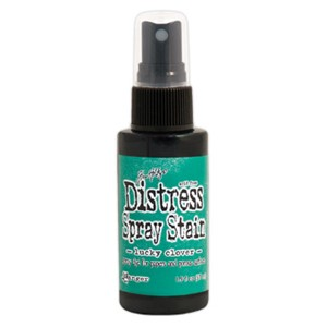 Distress Spray Stain - November - Lucky Clover