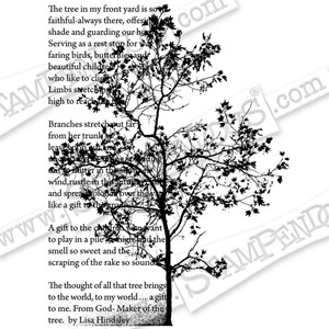 CLING  Tree Poem