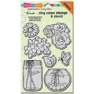 CLING Build A Bouquet w/template