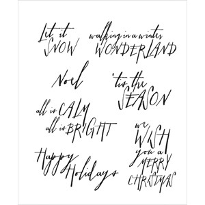 Handwritten Holidays #2