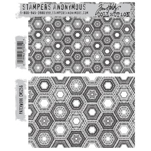Tim Holtz stamps - PATCHWORK