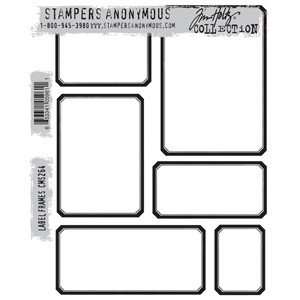 Tim Holtz stamps - LABEL FRAMES