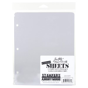 STORAGE SHEETS (5 PACK) CLEAR - Feb.18