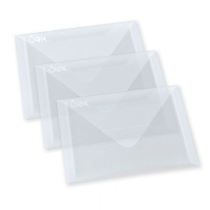 Accessory - Plastic Envelopes, 3 Pack