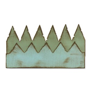 On the Edge Die - Pennants by Tim Holtz, UTGÅR
