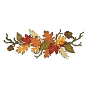 Sizzlits Decorative Strip Die - Autumn Gatherings T.Holtz