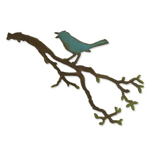 Bigz Die - Bird Branch by Tim Holtz