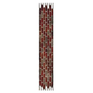 Decorative Strip Die - Brick Wall by Tim Holtz - UTGÅR