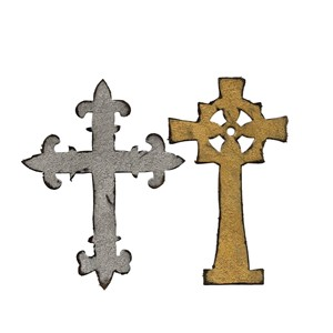 Bigz Die - Ornate Crosses by Tim Holtz