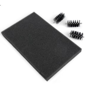Accessory - Replacement Die Brush Rollers & Foam Pad for Waf