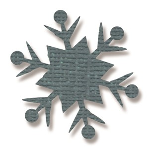 Paper Punch - Snowflake #2, Large by Tim Holtz