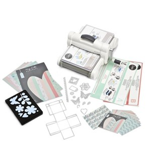 Big Shot Plus Starter Kit White & Gray