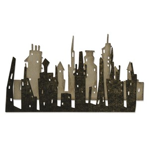 Thinlits Dies Cityscape Skyline by Tim Holtz - mar.17