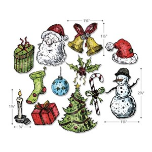 Tattered Christmas by Tim Holtz, 12PK