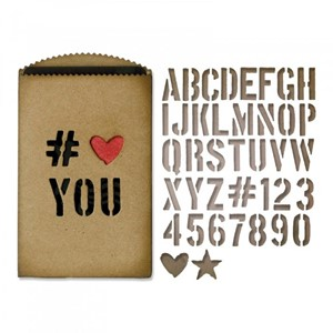 Thinlits Die - Gift Card Bag by Tim Holtz - Feb-18