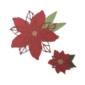 Sizzix - Thinlits die set 8pk poinsettia
