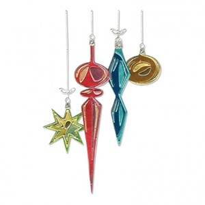 Sizzix - Thinlits die set 17pk hanging ornaments