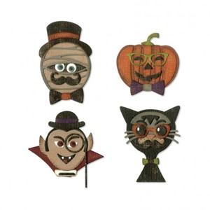 Sizzix - Thinlits die set 10pk hip haunts