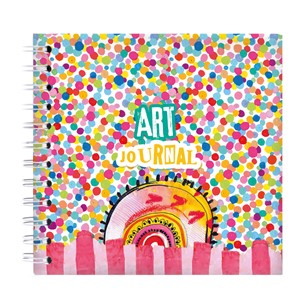 BM Art Journal  Confetti Marlenes World 100x100mm nr.12