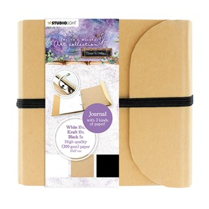 Jenines Mindful Art Journal Time to Relax 210x190mm 25 SH nr