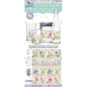 Studio Light Shrink Sleeves - Sweet Flowers 16