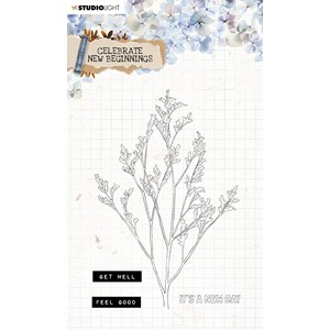 SL Clear Stamp Celebrate new beginnings 105x148mm nr.514