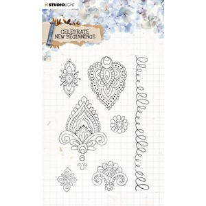 SL Clear Stamp Celebrate new beginnings 105x148mm nr.516