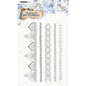 SL Clear Stamp Celebrate new beginnings 105x148mm nr.517