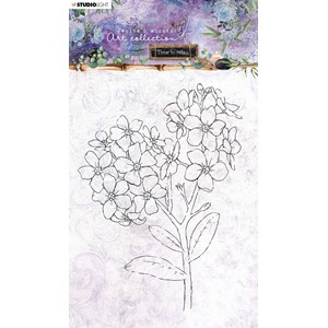 JMA Clear Stamp Forget-me-not Time to Relax 2.0 148x210mm nr