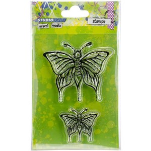 Studio Light Stamp Butterfly