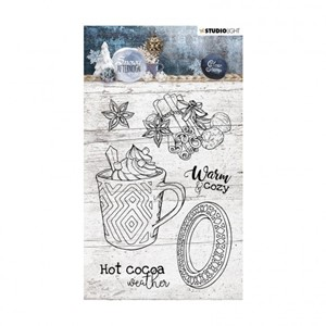 Studio Light - Clear stamp A6 Snowy afternoon nr.396