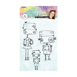 Studio Light - Clear stamp A6 Shirley Cohen nr. 01