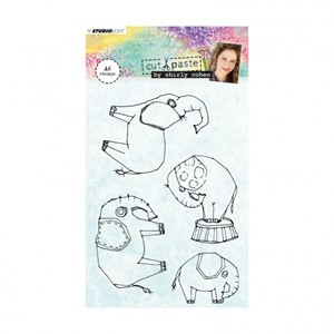 Studio Light - Clear stamp A6 Shirley Cohen nr. 02