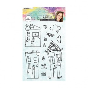 Studio Light - Clear stamp A6 Shirley Cohen nr. 03