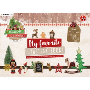 SL MF Crafting Book Traditional Christmas Elements 210x297mm