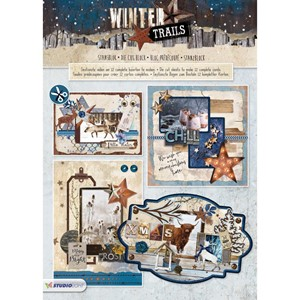 Studio Light 3D Die Cut Block - Winter Trails nr. 72