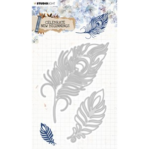 SL Cutting & Emb. Die Celebrate new beginnings 92x135mm nr.3