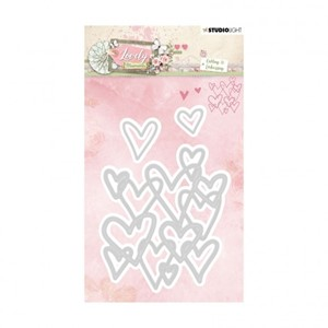 Studio Light - Embossing die cut Lovely moments nr.214